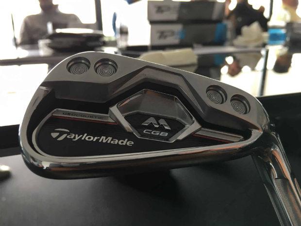 Golf Post konnte das neue TaylorMade M CGB Eisen bereits bei seiner Vorstellung in London unter die Lupe nehmen. (Foto: Golf Post)