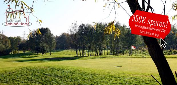 Golf Mitgliedschaft: Mit dem Golf Post Special 350€ sparen und weitere Vorteile erhalten. (Bild: Schloss Horst)