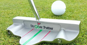 Der ST-16 Putter von Straighter Putter überzeugt durch ein präziseres Kurzspiel. (Foto: Straighter Putter)