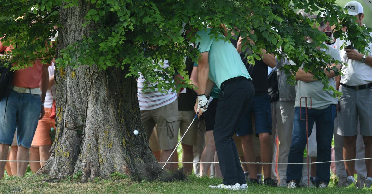 Golfregeln Entfernungsmesser : Golfregeln wann darf ich den ball nochmal droppen