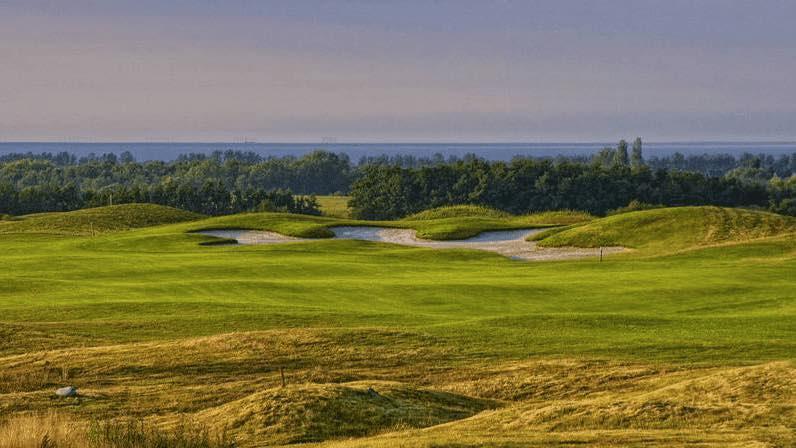 Das Ostsee Panorama ist im Golf Resort Wittenbeck ihr ständiger Begleiter. (Foto: Golf Resort Wittenbeck)