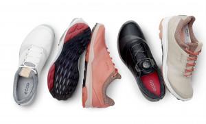 Auch für die Damen bietet Ecco den Biom Hybrid 3 in verschiedenen Farben an. (Foto: Ecco Golf)
