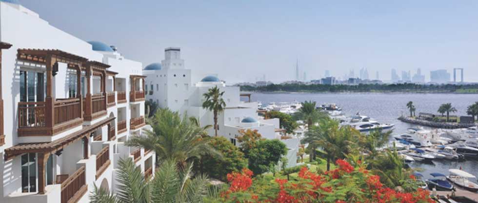 Das Park Hyatt Dubai liegt sehr zentral und die Golfplätze sind schnell und leicht erreichbar. (Foto: Jürgen Linnenbürger)