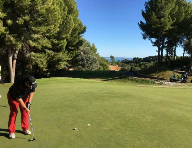 Ausblick von dem Real Golf de Bendinat. (Foto: Steffen Bents)