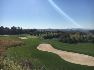 Wunderschöne Aussichten im Europa-Park Golfclub Breisgau. (Foto: Golf Post)