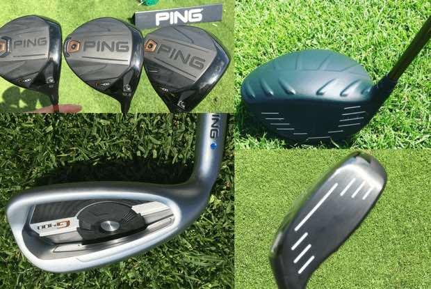 Die Golf Post Mitarbeiter Denise Kalek und Robin Bulitz testeten die G400 Serie von Ping über mehrere Monate. (Foto: Golf Post)