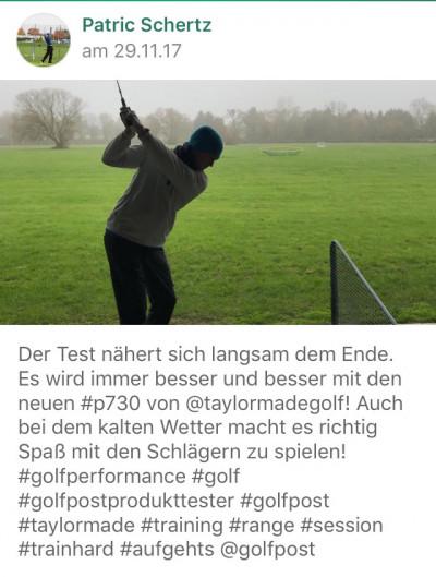 In der Golf Post App berichtete unser Tester von den TaylorMade P790 Eisen. (Foto: Getty)