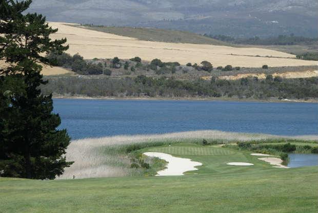 Loch 8 des Arabella Golf Resort. (Foto: Kai Wunner)