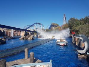 Auch die Wasser-Attraktionen im Park haben es in sich. (Foto: Golf Post)