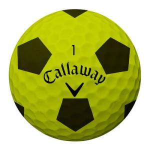 Der Callaway Chrome Soft ist auch im ungewohnten aber optisch auffallendem Truvis-Design erhältlich. (Foto: Callaway)