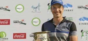 Michael Hirmer sichert sich zum Auftakt der Pro Golf Tour Saison in Ägypten den Sieg. (Foto: Pro Golf Tour)