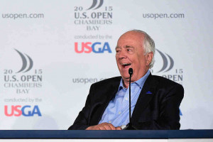 """Schöpfer"" von Chambers Bay: Robert Trent Jones Jr. (Foto: Getty)"