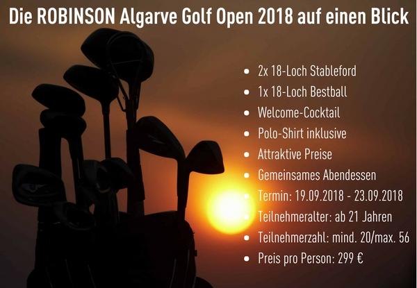 Drei Tage Turniergolf an der Algarve bietet ROBINSON im September. Sichern Sie sich jetzt hier Ihren Platz!<br>(Foto: ROBINSON)