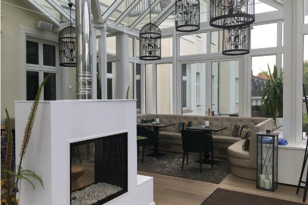 Perfektes Ambiente bietet das 2016 neu gestaltete Schlosshotel Fleesensee. (Foto: Golf Post)