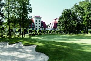 Das A-Rosa Resort sucht in Deutschland seines gleichen und dürfte ein würdiger Austragungsort für die Golf Europameisterschaft der Herren sein. (Foto: A-Rosa)