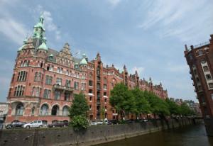 Die Speicherstadt an der Elbe in Hamburg. (Foto: Getty)