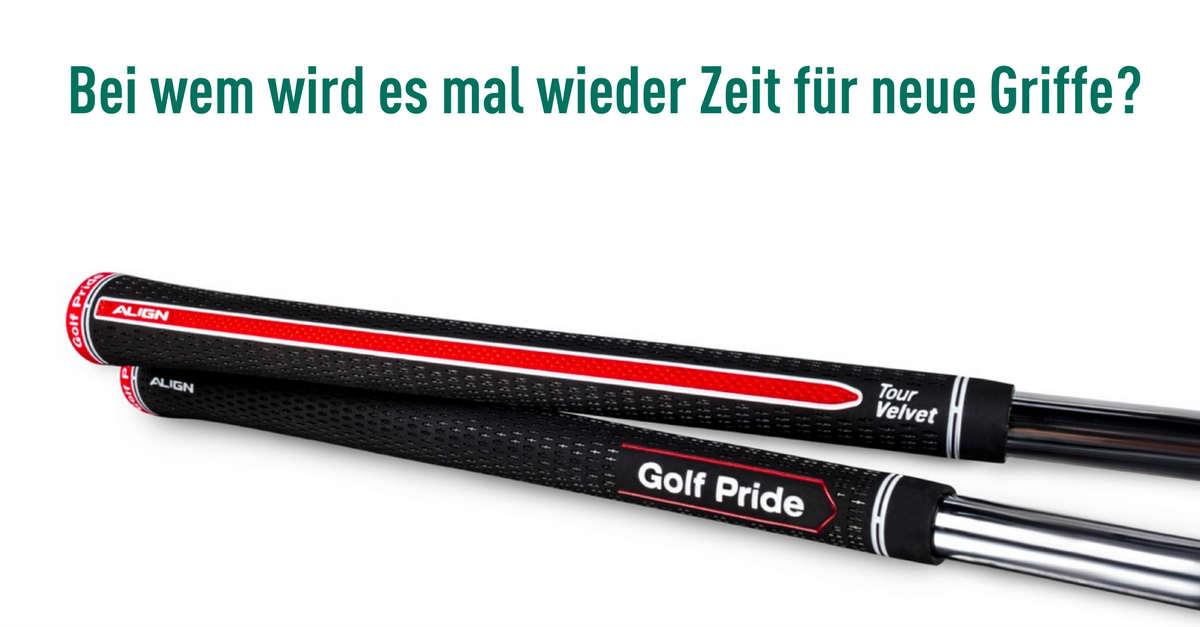 Golf Pride  Erfolgreiche Griffe bekommen Zuwachs dfa785f99546