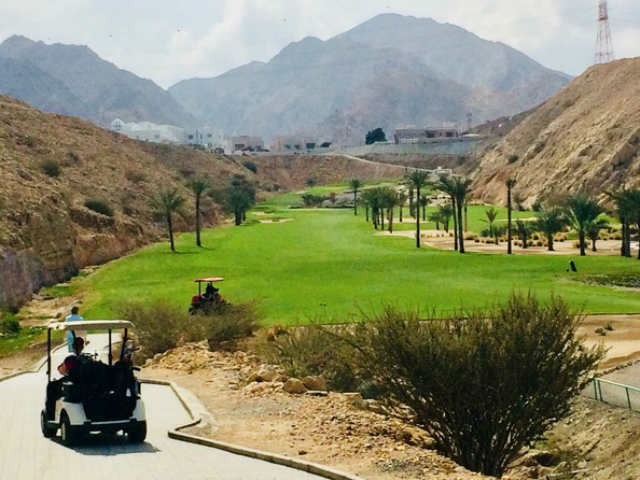 Oman Reisebericht Ghala Golf Club