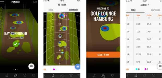 Die kostenfreie TrackMan Range App liefert zahlreiche Daten zum jeweiligen Schlag und bietet den perfekten Überblick über das eigene Spiel. (Foto: TrackMan Range App)