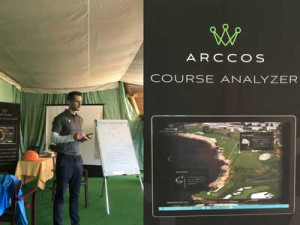 Golfer konnten sich interessante Vorträge zum Thema Golf und Fitness sowie zum neuen Trackingsystem von Arccos anhören. (Foto: Golf Post)