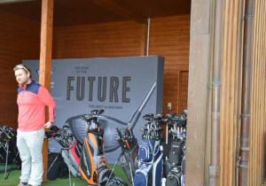 """Die neue """"Schmiede"""" von Cobra Golf stand den ganzen Tag über zur freien Verfügung. (Foto: Cobra Golf)"""