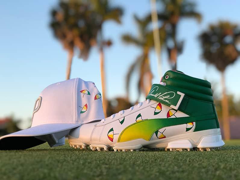 Puma Golf Arnold Palmer Schuh und Cap Sondermodelle zu gewinnen