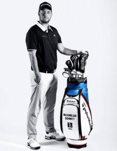 """Max Schmitt erhält bei TaylorMade einen sogenannten """"vollen Vertrage"""", der alle Schläger, das Bag und das Branding auf der Kappe umfasst. (Foto: TaylorMade)"""
