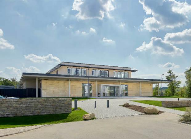 Das neue Clubhaus des Mainzer Golfclubs. (Foto: Matthias Gruber / Gruberimages.com)