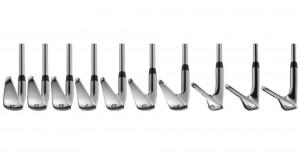 Lie-Winkel und Länge der Cobra King F8 One-Length-Eisen sind alle an das Eisen 7 angepasst. (Foto: Cobra)