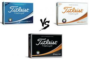 Ball gegen Ball gegen Ball - Wir haben den großen Titleist Golfball-Vergleich angestellt. (Foto: Titleist)