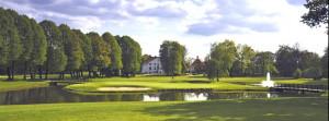 Inselgrün an Bahn 9 des C-Kurs im Golf und Land Club Gut Kaden. (Foto: Facebook.com/@GutKaden)