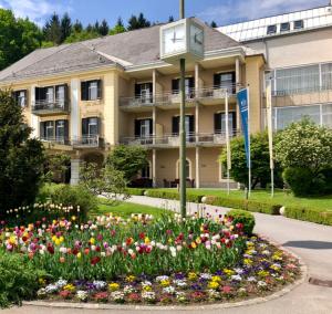 Hotel Warmbaderhof, Warmbaden-Villach. (Foto: Jürgen Linnenbürger)