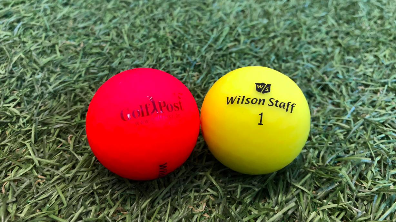 Die neuen Golf Post-Bälle in knalligen Farben. (Foto: Golf Post)