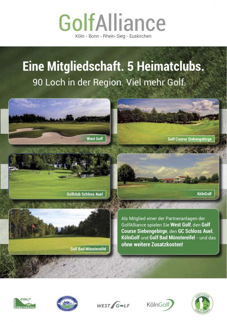 Fünf Plätze, eine Mitgliedschaft. Die GolfAlliance bietet alles was das (Golfer)Herz begehrt. (Foto: GolfAlliance)