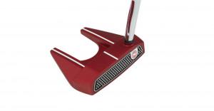 Der Odyssey-O-Work Red Putter mit der Modellnummer #7: Das bekannte schlichte Design ist bei Profis und Amateuren auf der ganzen Welt beliebt. (Foto: Odyssey)