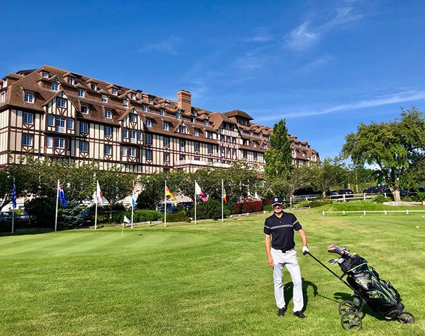 Hotel und Golfplatz Le Barrière. (Foto: Jürgen Linnenbürger)