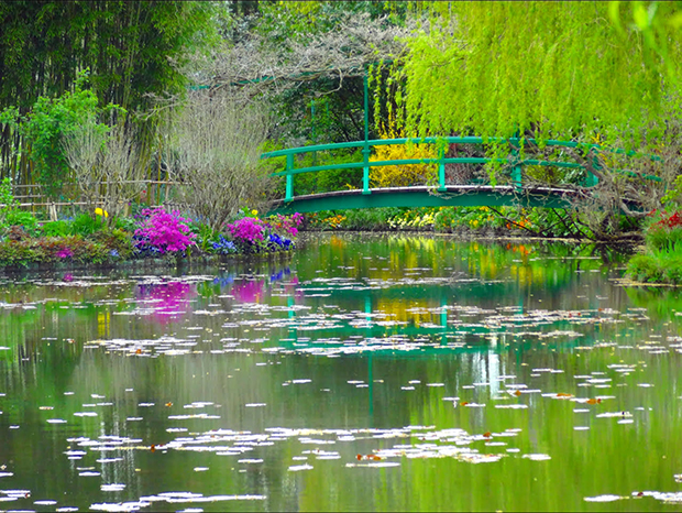 Monets Garten in Giverny. (Foto: E.Tessier)