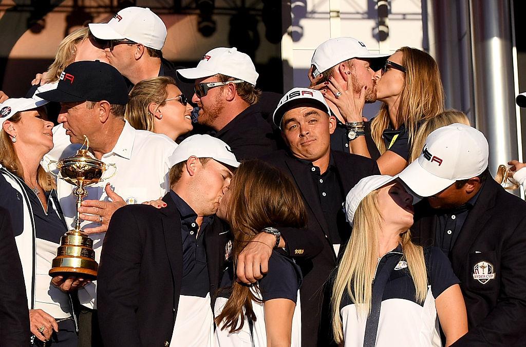 Rickie Fowler unter Paaren beim Ryder Cup 2016