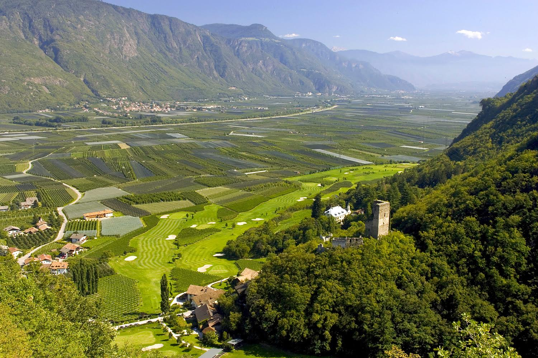 Wunderschöner Ausblick im Panoramiche del Golf Club. (Foto: Panoramiche del Golf Club Lana)