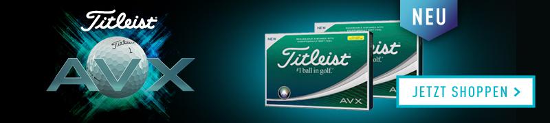 Sichern Sie sich jetzt den AVX Golfball bei uns im Angebot. (Foto: Golf House)
