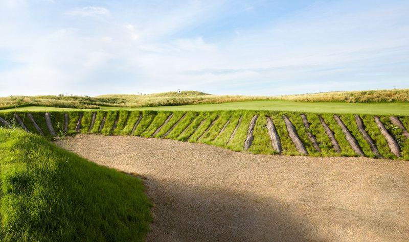 Bunkerlandschaften wie in Schottland findet man auf Haxterhöhe Links. (Foto: Haxterhöhe Links)
