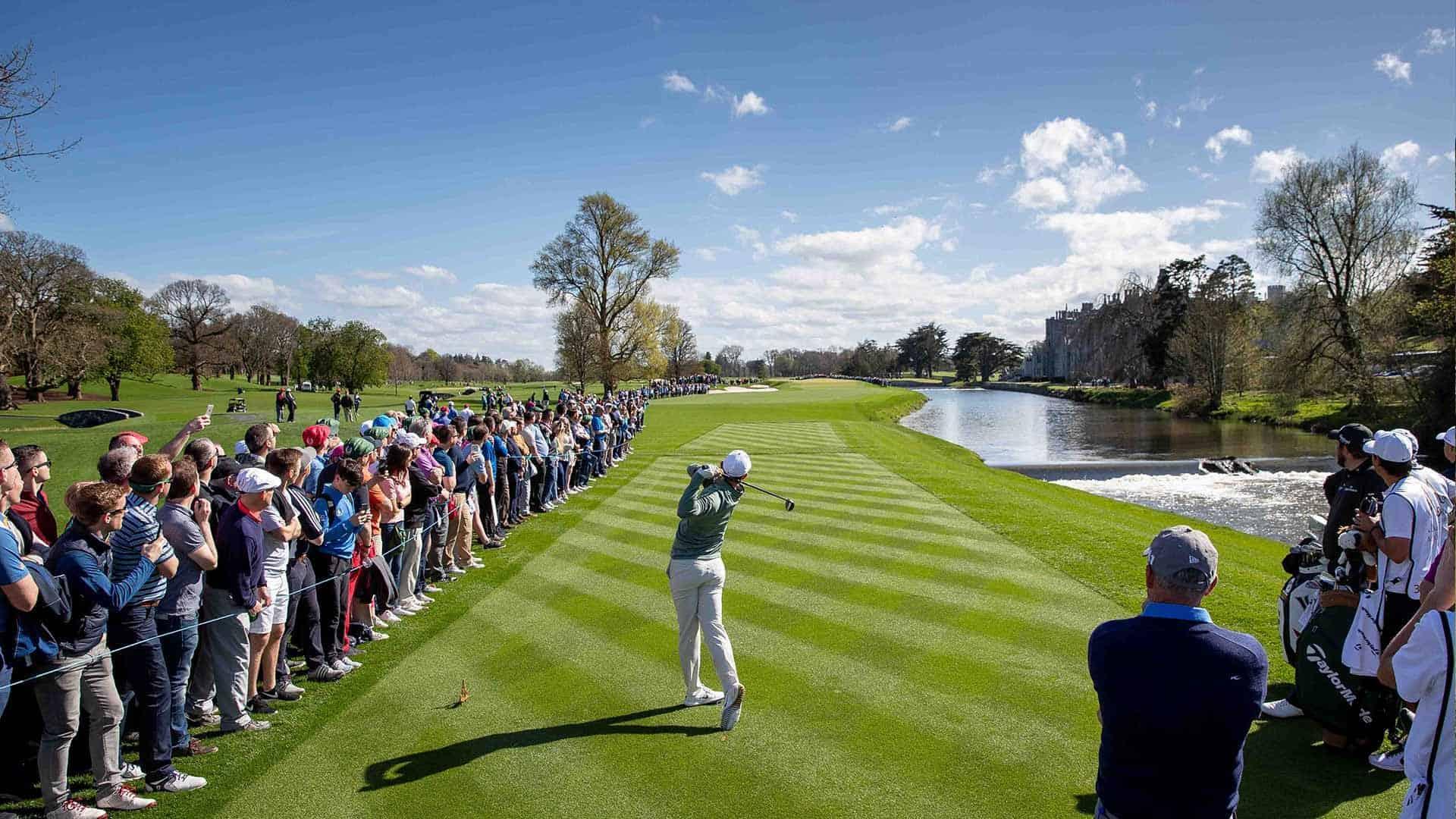 """Selbst Rory McIlroy konnte sich der Schönheit des """"Adare Manor Golf Clubs"""" nicht entziehen. (Foto: Adare Manor Golf Club)"""