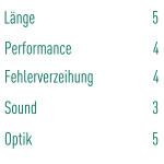Die Kritik in Zahlen gefasst von Andreas Schröder. (Foto: Golf Post)