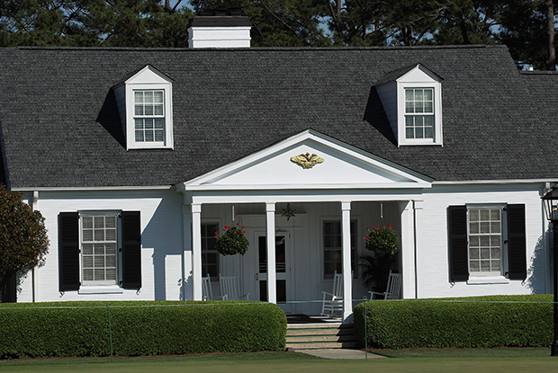 Die Eisenhower Cabin im Augusta National. (Foto: Getty)
