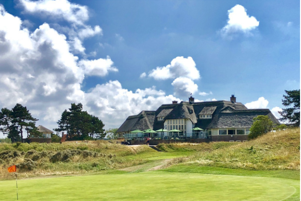 Clubhaus des Kennemer Golf & Country Club. (Foto: Jürgen Linnenbürger)