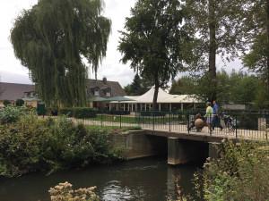 Das Clubhaus im GC Lippstadt fügt sich nahtlos in die wunderschöne und gemütliche Umgebung ein. (Foto: Golf Post)
