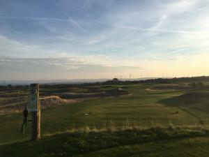 Linksdesign mitten in Ostwestfalen. Auf Haxterhöhe Links schlagen Golferherzen höher. (Foto: Golf Post)