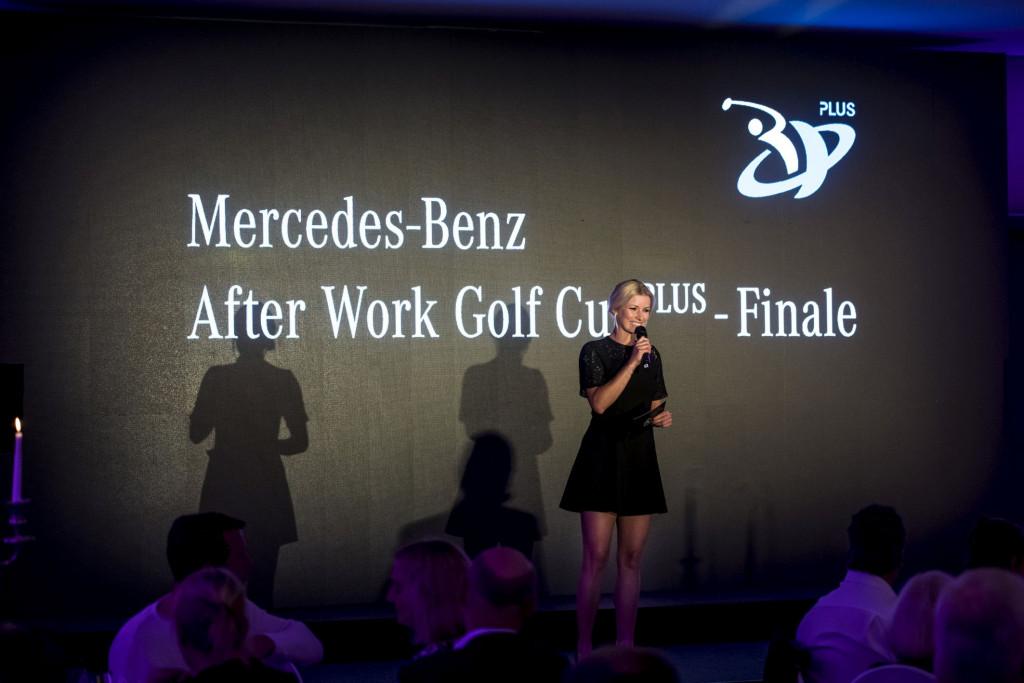 Annica Hansen war Moderatorin der Abendveranstaltungen (Foto: Mercedes-Benz)