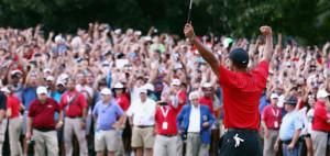 Tiger Woods schafft mit seinem 80. Sieg auf der PGA Tour eines der größten Comebacks in der Golf-Geschichte. (Foto: Getty)
