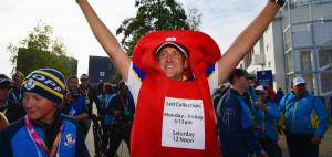 Ian Poulter feiert den Ryder-Cup-Sieg und wir schauen auf ein Jahr voller Back Nine zurück. (Foto: Getty)